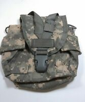 US Military Issue Army ACU Camouflage Molle 1 Qt Canteen General Purpose Pouch