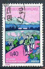 STAMP / TIMBRE FRANCE OBLITERE N° 1723 ANNEE DU TOURISME PEDESTRE