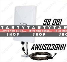 ANTENNA ALPHA IMPERMEABILE WIRELESS AMPLIFICATORE WIFI POTENTE ESTERNO INTERNO