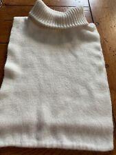 Vintage 70'S Women's Turtleneck Knit Dickie White. #119/