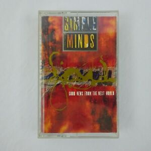 Simple Minds Cassette Good News From The Next World
