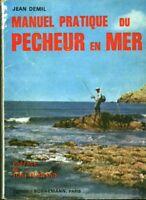 Livre manuel pratique du pêcheur en mer Jean Demil book