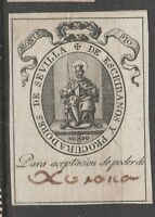 Spain -OLD Cinderella or Revenue stamp 3-21(20)-
