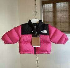 The North Face Infant Nuptse Jacket Pink 0-3 Months Baby Girl Born BRAND NEW