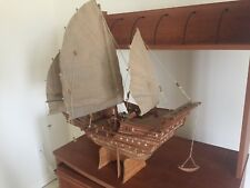 "Chinese Junk Model Ship 24"" (Fully Assembled)"