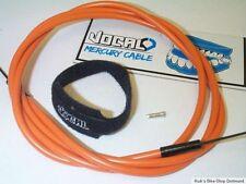 Vocal BMX, MTB Bremszug-Set Teflon Außenhülle Orange mit Klettband