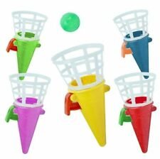 24 x CLICK & CATCH CONES HOMEMADE CHRISTMAS CRACKER PARTY BAG TOYS FILLERS
