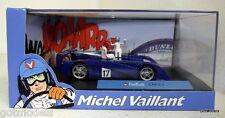 Michel Vaillant cartoon 1/43 scale diorama Valliante Le Mans 07 model car