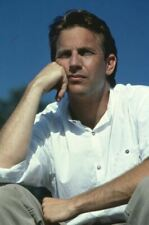 Bull Durham Original 1988 35mm Film Slide Kevin Costner Portrait en Blanc Shirt