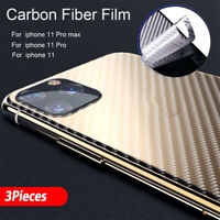 Back Screen Protector Protective Skins Rear Phone Sticker For iPhone 11 Pro Max