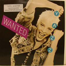 "YAZZ - WANTED 12"" LP + OIS THE ONLY WAY IS UP STAND UP FOR YOUR LOVE RIGHTS i751"