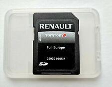 Renault TomTom R-Link || Navi SD-Karte Full Europe Q2.2020 (25920 0705 R)