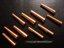 Copper Cones Metal Native American Craft Jewelry Supplies Regalia Finding FPS123