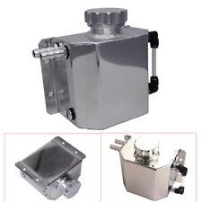 Universal CNC Billet Aluminium Coolant Tank 1000ml Oil Catch Can Breather Tank