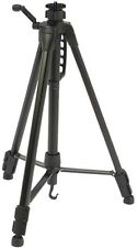 """BLACK 1.49M MAX CAMERA TRIPOD WITH 3/8"""" 9.5MM THREAD FOR HEAD (NOT INCLUDED)"""