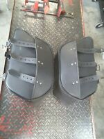 Harley davidson softail dyna Sportster Universal Aftermarket Saddlebags