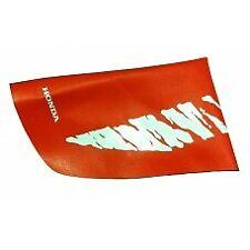 HONDA EVO MX SEAT COVER CR 125 250 500 1991 OEM MATCH ORANGE RED TIGER STRIPE