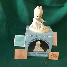 """New ListingPrecious Moments 1987 """"Pm-881"""" """"God Bless You For Touching My Life"""" New In Box"""
