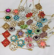 Wholesale Joblot HIJAB, SCARF, ABAYA HAT PINS BROOCH Pin Set Of 12pc Just £4.99