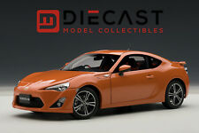 "AUTOART 78771 TOYOTA 86 GT ""LIMITED"", ASIAN VERSION/RHD, ORANGE METALLIC, 1:18TH"