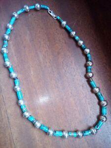 Collana Argento e Turchese Navajo Originale