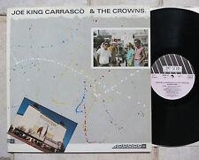 Joe King Carrasco & The Crowns – Bordertown  Vinyl LP  New Rose