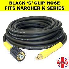 More details for karcher k series pressure washer hose black c clip trigger k1 k2 k3 k4 k5 k6
