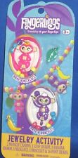 WOWWEE FINGERLINGS JEWELRY ACTIVITY KIT MONKEY CHARMS NECKLACE & BRACELET, NEW