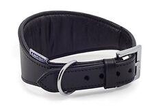 Ancol Greyhound Padded Collar Black 34-43cm