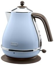 Delonghi Electric Kettle 1.0L ICONA Vintage Collection KBOV1200J-AZ Azzurro Blue