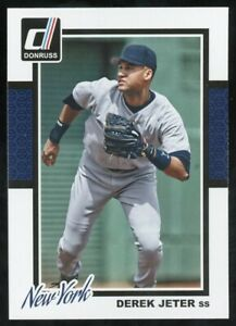 2014 Donruss Derek Jeter New York Yankees #318