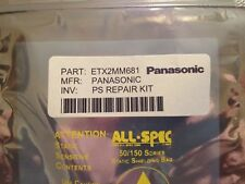 PANASONIC Power Supply Repair Kit 10, 5 and 2 blinks ETX2MM681MF ETX2MM681MFS