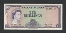 More details for jamaica  10s 1964 hall qeii p51bc vf  banknotes