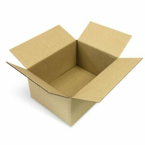 SHIPPING & CARDBOARD BOX, FOLDING CARTONS SINGLE WALL, 200X150X90 MM (25 units)