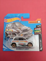 HOT WHEELS - 85 HONDA CITY TURBO II - HW RACE DAY - SHORT CARTE - GHC51 - R 5696