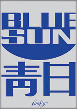 Firefly/Serenity Photo Quality Magnet: Blue Sun Logo