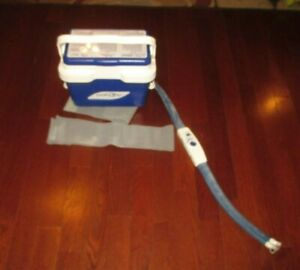 DONJOY ICEMAN cold therapy w/adjustable temp. cooler (cooler only )