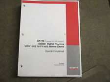 Case Ih Dx18 Dx22 Dx25 Dx 18 22 25 tractor & mower owners & maintennace manual