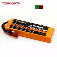 3S Lipo Battery 11.1V 4200MAH 30C xt 60 90 T JST EC5 RC Helicopter Quadcopter