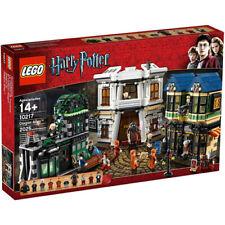 LEGO Harry Potter DIAGON ALLEY 10217 Fred George Ollivander Sealed NIB Retired
