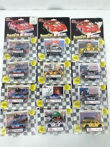 1992 Racing Champions Stock Car NASCAR 1:64 Die Cast Car - Lot of 12