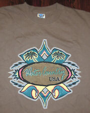 T Shirt Vintage 90s Water Country USA Virginia Surf Beach Single Stitch XXL 2XL
