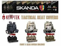 Coverking Kryptek Camo Tactical Front & Rear Seat Covers for Chevy Silverado