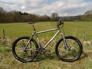 Moots YBBAIR Titanium Full Suspension XC Mtb Amazing / Rare Bike!