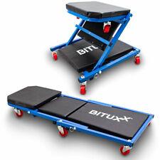 BITUXX Werkstatt-Rollbrett Werkstattliege Montageliege Montagerollbrett Sitz