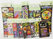 K&Company Halloween Spooky LOT 10 items worth over $75!  12x12 paper die cuts