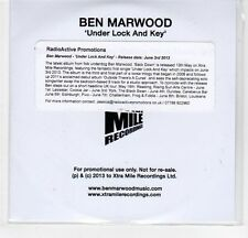 (EF425) Ben Marwood, Under Lock and Key - 2013 DJ CD