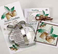 ANN CLARK~ACORN~tin cookie cutter~MADE IN USA (NEW)