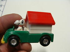 vintage clean SNOOPY DOG HOUSE CAR from Aviva made in japan