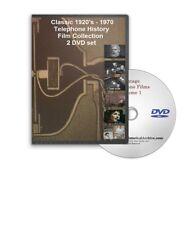 Classic 1920s - 1970 Bell Telephone Films Alexander Graham Bell 2 DVD Set A77-78
